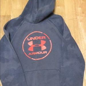 Youth medium Under Armour hoodie